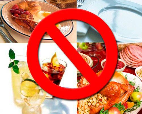 продукты которые нельзя есть при поносе
