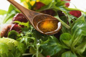 Заправка салат тыквенным маслом