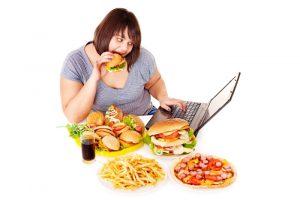 Высокая калорийность продуктов