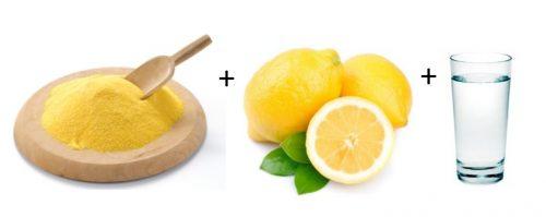 Ингредиенты для кукурузной маски от прыщей