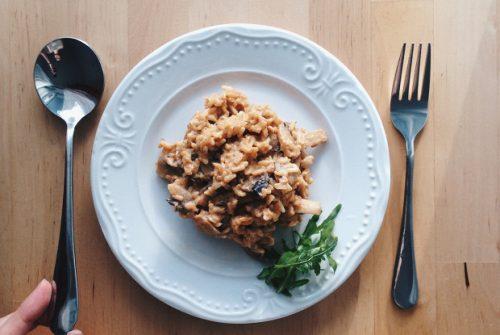 Порция бурого риса