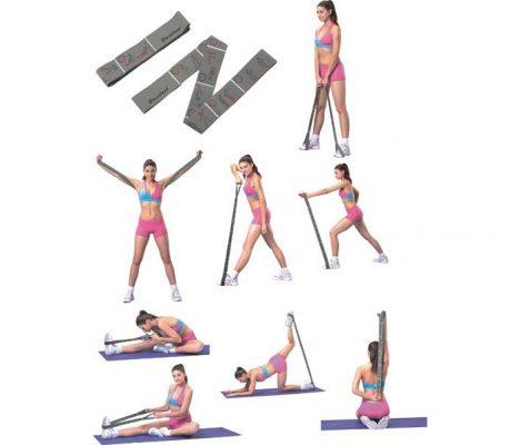 Упражнения с резинкой на разные группы мышц