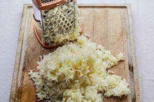 Обертывание с сырым картофелем