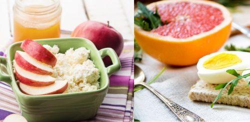 Белково–фруктовая диета