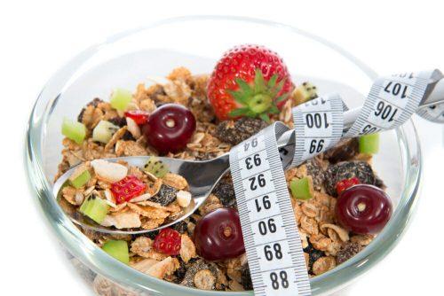 Употребление мюсли на диете