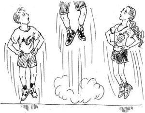 Отталкивание при прыжках