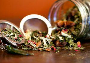 Чайный сбор с сенной