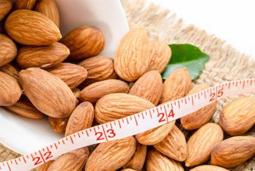 Миндаль на диете для похудения