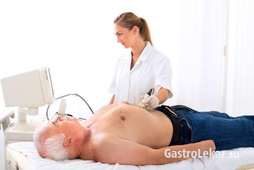 УЗИ при обострении хронического гастрита