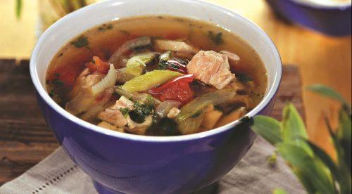Готовим диетический суп из курицы для похудения