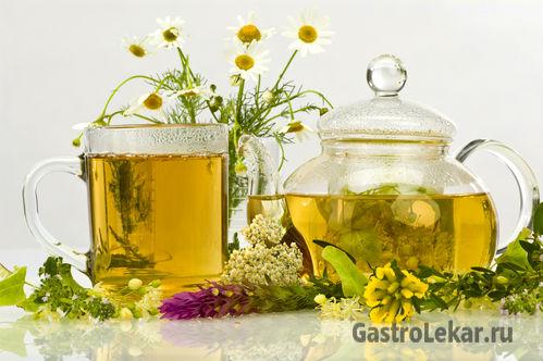 Монастырский чай при лечении гастрита