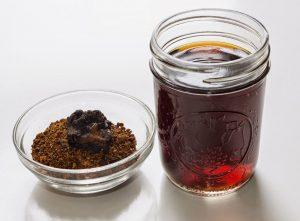 Раствор прополиса с чагой и медом