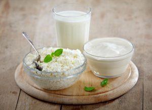 Йогурт, кефир и творог