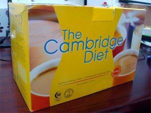 Коробка с продукцией Cambridge