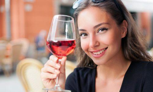 Употребление вина для похудения