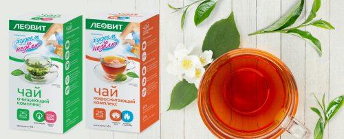 Чай Леовит для коррекции фигуры
