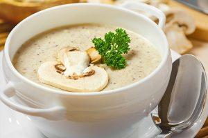 Суп–пюре из шампиньонов