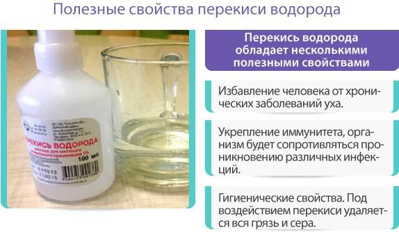 Полезные свойства перекиси