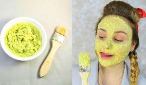 Зеленая маска от морщин