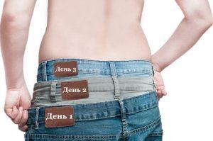 Быстрый результат похудения