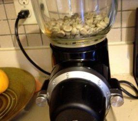 Перемолка зеленого кофе