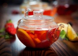 Грейпфрутовый чай с корками
