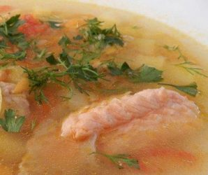 Суп с гречкой и рыбой