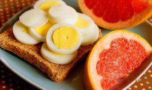 Цитрусово–яичная диета