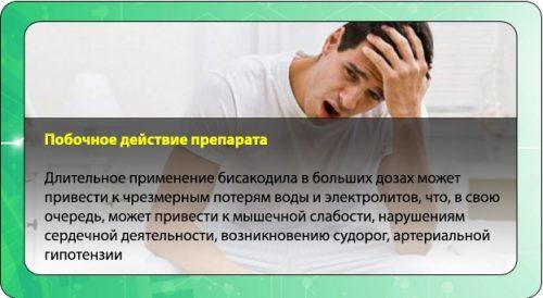 Побочные препарата