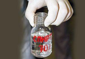 Медицинский спирт 70%