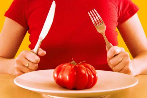 Томатный разгрузочный день для похудения