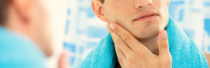 кожа после бритья
