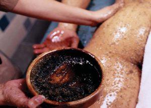 Кофейный скраб против образования целлюлита