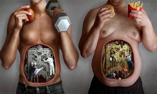 Разный метаболизм