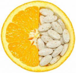 Витамины и апельсин