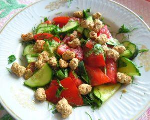 Салат с отрубями