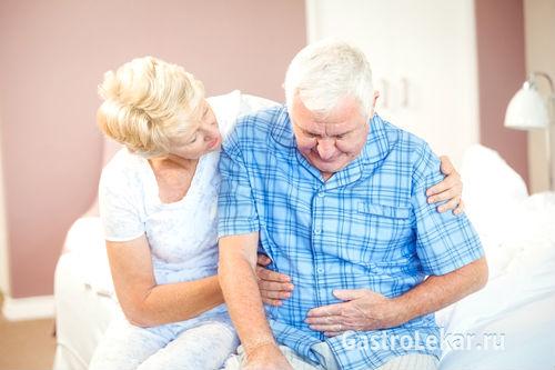 Боли в желудке при гастродуедените