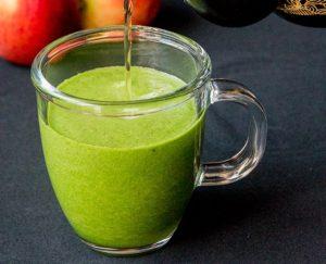 Смузи с зелёным чаем