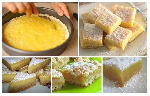 Яблочно–лимонный кекс