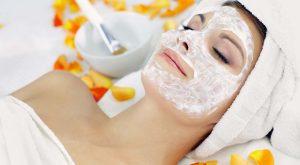 Йогуртовая маска для кожи лица