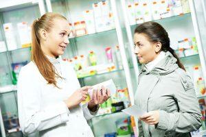 Покупка ингредиентов в аптеке