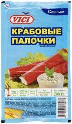200-граммовая пачка крабовых палочек