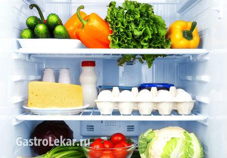 Продукты питания при атрофическом гастрите