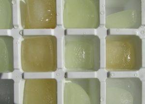 Лед из сока винограда