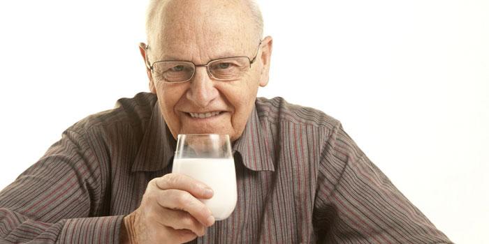 непереносимости лактозы у пожилых людей