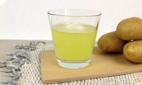 Употребление картофельного сока