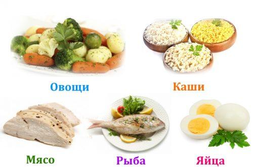 Вареные блюда