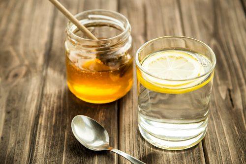 Медовая вода с лимоном