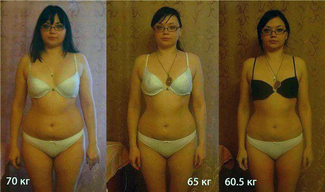 Похудение на 10 кг