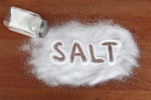 Употребление соли на диете